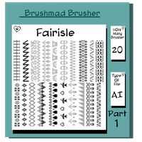 Illustrator Fairisle brush Part 1 by brushmad