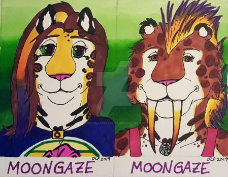 Moongaze Jaguar/Sabercat Badge 2019