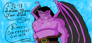 Goliath Gargoyles 21 by SailorMoonFanGirl