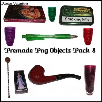 Premade Png Objects Pack 8 by Lady-Valentine-Art83