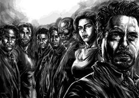 Avengers Movie 3 Shaded by ncajayon