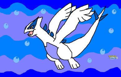 Lugia Pokemon SoulSilver by kirbysuperstar97