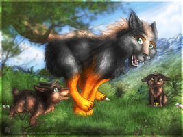 Easter Run by ThorinFrostclaw