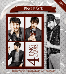COLIN MORGAN PNG PACK by Fuckthesch00l