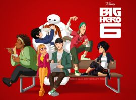 Big Hero 6 by Milady666