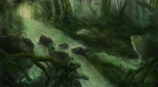 Jungle River by JKRoots