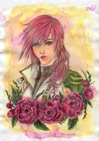 Lightning - FFXIII by Raven-Punch