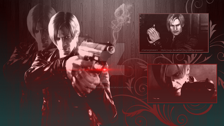 Leon Kennedy Wallpaper 1 by xGamergreaserx