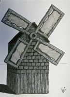 Work in Progress Windmill by Spirit-of-song