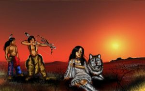 Red Indians by Angelii-D