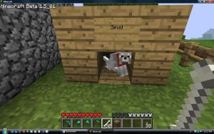 Minecraft: Dog House by Hisscale