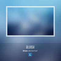 Bluish - Wallpaper by limav
