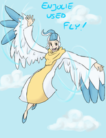 Enjolie used Fly by jadethestone