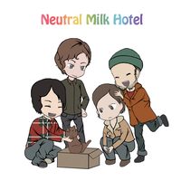 Neutral Milk Hotel by LieutenantSheesha