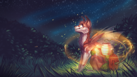 Contest Entry: Guardian of the garden by ScribbleWoof