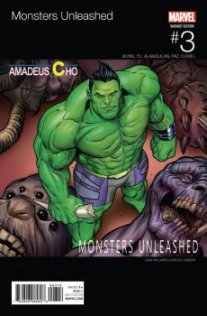 Hip Hop Hulk cover-Monsters Unleashed final by BroHawk