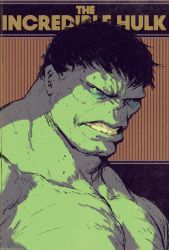 The Incredible Hulk cover! by DaveRapoza
