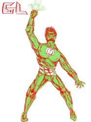 GreenLantern Kyle Rayner by Chronicle-l