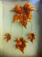 Autumn Hair Piece configuration 1 by Arexandria