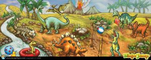 Dino Park by designfxpro