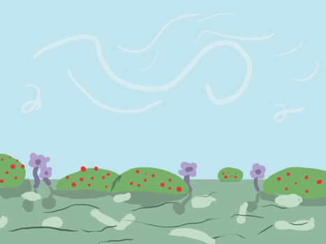 Ponyville Background by 8bitDerp
