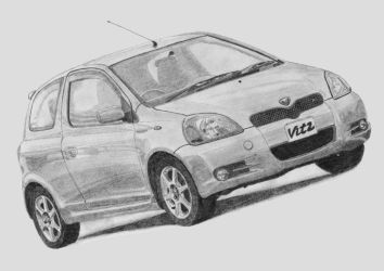 Toyota Vitz 1.5 RS by Lew-GTR