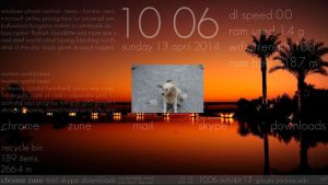 Sunset 2.0 Skin Suite for Rainmeter by DaKidIndian