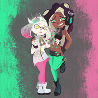 Stay off the hook- Marina Pearl by SupaSmashSketcher