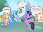 Trixie, the great ands powerful body-swapper by TheWalrusclown