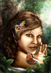 Butterfly Catcher finished by Alisha-Mordicae