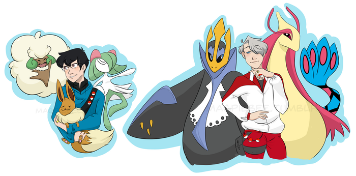Pokemon!!! On Ice by magpiebee