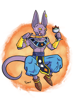Beerus by SonicKnight007