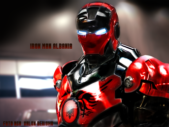 Iron Man Albania by Valonb