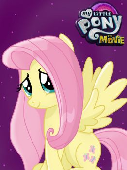 My Little Pony: the Movie Fluttershy by JustSomePainter11