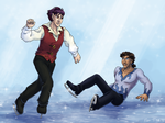 Leif!!! on Ice by ErinPtah