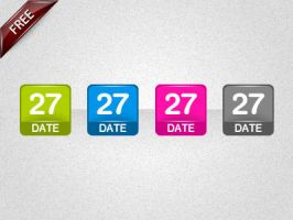 Date icons by artnook