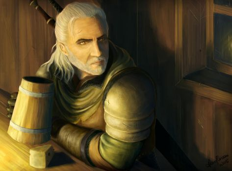 The Tavern - The Witcher 3 by LanaArts