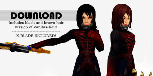 Vanitas Kairi - Pack DL (UPDATE #2) by SnowEmbrace