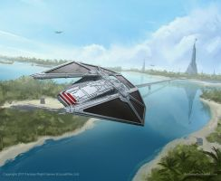 STAR WARS TIE Reaper Box Cover by AnthonyDevine