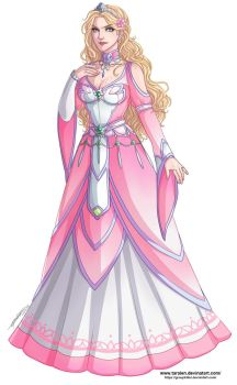 :Commission: Princess Isolde by Taralen