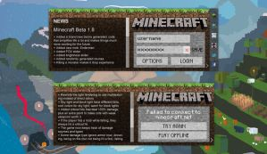 Minecraft Launcher Concept by insyami