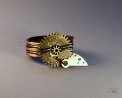 Steampunk ring 7 by TheCraftsman