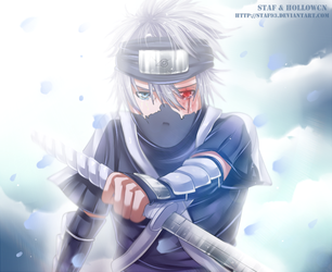 Kakashi - I can't forgive it... by staf93