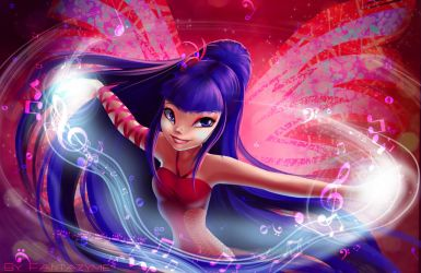 Winx Club Musa Sirenix power by fantazyme
