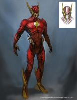 Flash Armored 2 by Raggedy-Annedroid