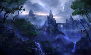Castle Valley by Nele-Diel
