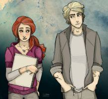Mortal Instruments - Clary, Jace by leabharlann