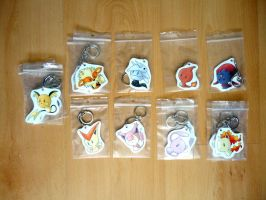 SALE Keychains 1 by I-Am-Bleu