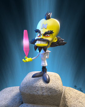 Dr. Neo Cortex by MaryShan