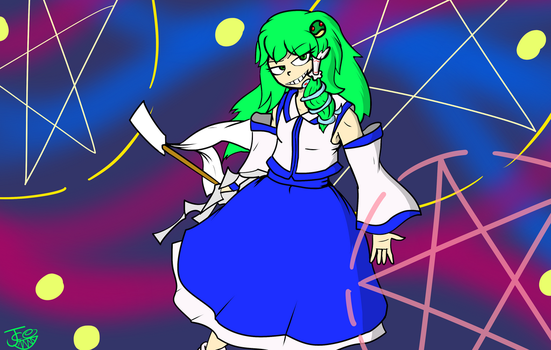 Sanae by Carbonated-James